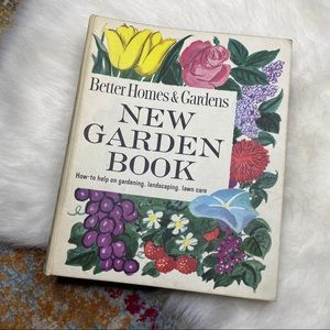 Vintage '61 Better Homes & Gardens New Garden Book